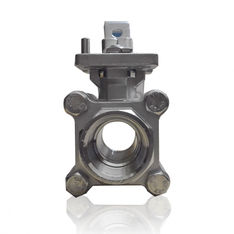 VTV 3 PC Body Ball Valve SS316, Screw end to 1000 WOG, 3/4""