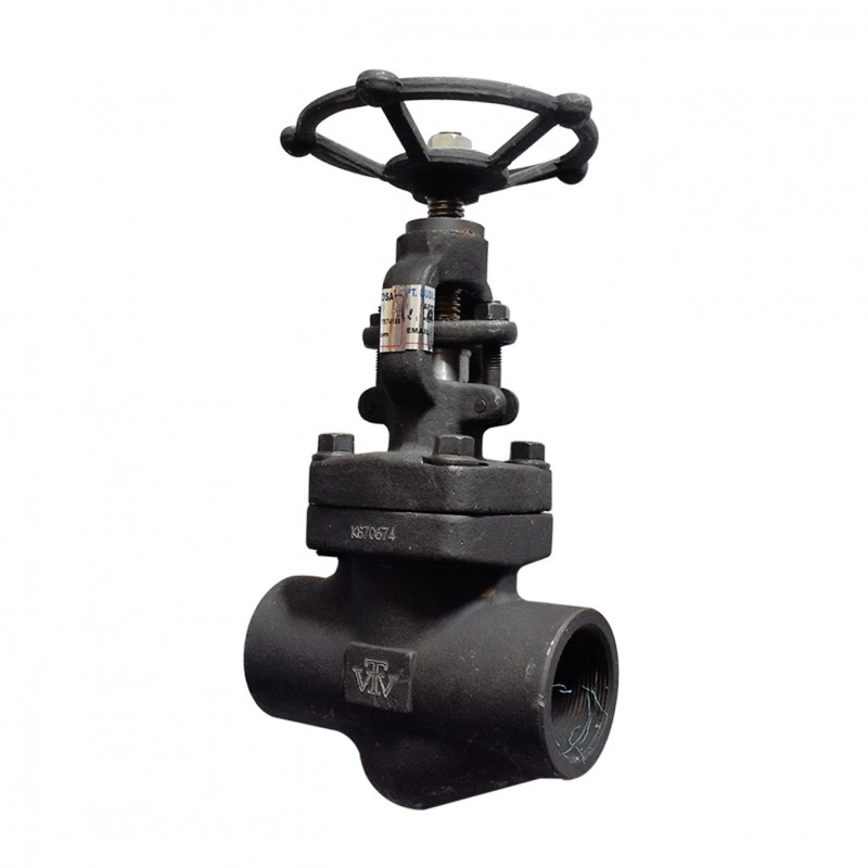 VTV Globe valve, Forged Steel , Socket Welded, Class 800, 1""