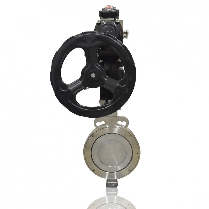 "VTV Max High Performance Butterfly Valve A216-WCB, 8"" Metal Seat JIS 10K/ANSI 150"