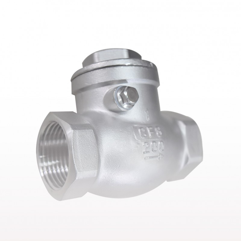 VTV Swing Check Valve, SS316, Screw End to BSP Class 200, 0,75""