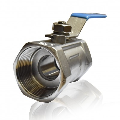 "SANKYO 1 PC Body Ball Valve 1.5"" SS316"