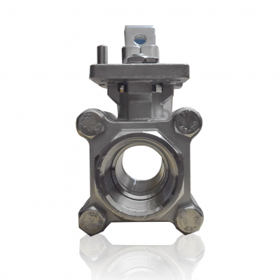 VTV 3 PC Body Ball Valve SS316, Screw end to 1000 WOG, 1.5""