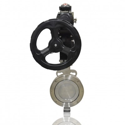 "VTV Max High Performance Butterfly Valve A216-WCB, 6"" Metal Seat JIS 10K/ANSI 150"