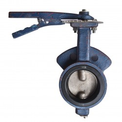 OVER STOCK Butterfly Valve OKM Cast Iron Fig 616, 6""