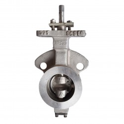 OVER STOCK Butterfly Valve OKM Metal SS Type 5423, 6""