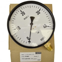 "WIKA Pressure Gauge 6"" (0 to 40 Bar) BSP"