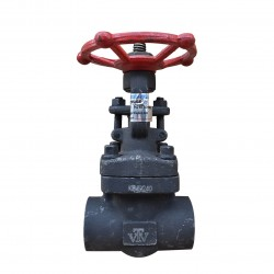 VTV Forged Steel Gate Valve, Con. Socket Welded Class 1500, 0.5""