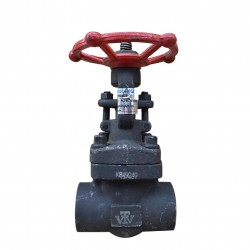 VTV Forged Steel Gate Valve, Con. Socket Welded Class 1500, 1.5""